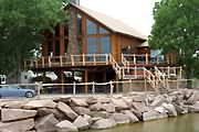 Lake Vista Lodge lake house rental on Lake Buchanan in central Texas